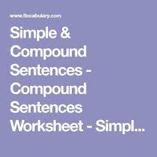 the 25 best simple sentences worksheet ideas on pinterest