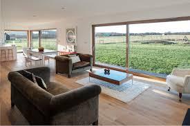Contemporary Farm House Howe Farm Is An Air Tight Timber Clad Farmhouse With A Fresh New
