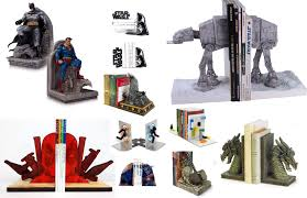 Unique Bookends 17 Cool Bookends For Your Inner Geek Walyou