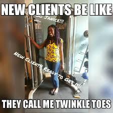 Personal Trainer Meme - client workout meme s
