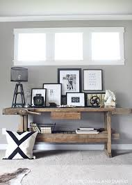 modern rustic home decor ideas modern rustic console display consoles display and modern