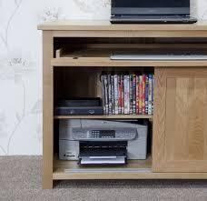 Solid Oak Office Desk Hide Away Desk Best Home Furniture Decoration