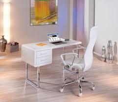 Schreibtisch Mit Computertisch Schreibtisch Computertisch Claude Weiß 2 Schubladen