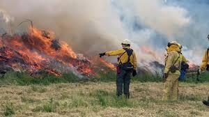 Wildfire Training by Firefighters Train Ahead Of Wildfire Season Katu