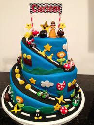 mario cakes mario brothers mario kart gluten free birthday cake gluten