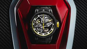 lamborghini gold and diamonds swiss watch manufacture creating high end watches for men and