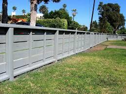 exterior lovable railing wood fence ideas for backyard combine