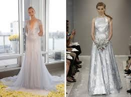 silver wedding dress 2015 wedding trend blue silver wedding dresses southbound