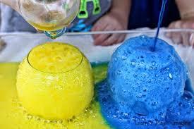 baking soda and vinegar eruptions learn play imagine