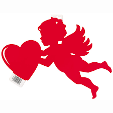 valentines decorations cut out cupid decoration