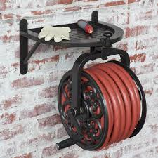garden hose hanger wall mount home design ideas and pictures