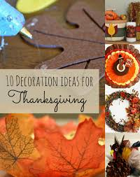 10 beautiful thanksgiving decoration ideas