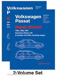 volkswagen passat b4 repair manual 1995 1996 1997 gasoline turbo