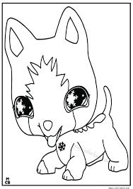 littlest petshop coloring pages free 9