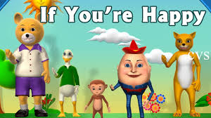 if you re happy and you it clap your song 3d