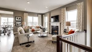 one level townhome floor plans riverside grove shako townhomes built by ryland homes