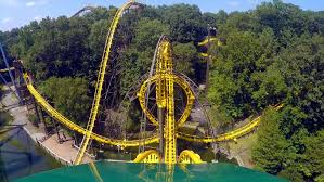 Busch Gardens Williamsburg New Ride by Loch Ness Monster Front Seat On Ride Hd Pov 60fps Busch Gardens