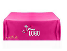 trade show table runner 6ft custom tablecloth personalized table cloth table cover event