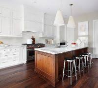 Transitional Pendant Lighting Kitchen - toronto wooden island kitchen transitional with marble worktop