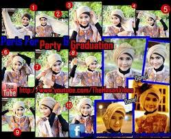 tutorial hijab turban ala april jasmine pintar pakai jilbab tutorial model kerudung segi empat untuk pesta
