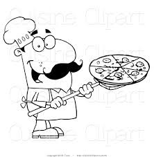 stove clipart cuisine clipart of a coloring page of a chef