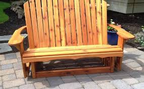 Western Red Cedar Outdoor Furniture by Americana Woodworks