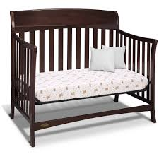 Graco Bed Rails For Convertible Cribs Graco Lennon 4 In 1 Convertible Crib Espresso Walmart