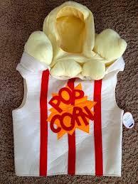 Popcorn Halloween Costume Pottery Barn Teen Kids Popcorn Costume Halloween Size Small