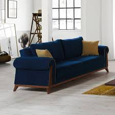 Houzz Sectional Sofas Denim Sectional Sofa