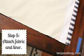 Nursery Curtains With Blackout Lining by Ten June Diy Blackout Curtain Tutorial How To Make Awesome
