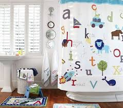 Croscill Yosemite Shower Curtain by Kids Bathroom With Alphabet Themed Accessories Nice Accessories