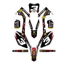 rockstar energy motocross helmet rockstar energy honda effetti racing mx graphics grafiche