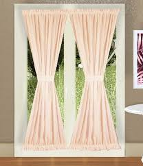 Blush Pink Curtains Solid Blush Pink Colored Door Curtain Available In