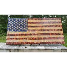 American Flag Home Decor Hand Crafted Barnyard Grey American Flag Art U0026 Decor Home