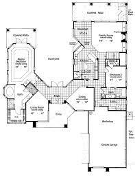 floor plans with courtyards two story courtyard house plan 6382hd architectural designs