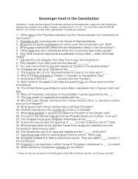 6 best images of constitution worksheet answers amendments to