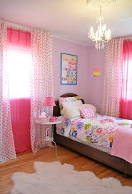 Pink Curtains For Nursery by Teens Room Pink Color Fabric Fish Patterns Girls Room Curtains