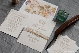 wedding invitations cork blush magva design letterpress