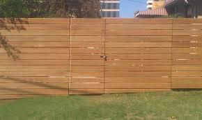 horizontal wood fence designs horizontal pickets fence