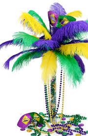 mardi gras centerpieces party ideas by mardi gras outlet diy mardi gras feather tree