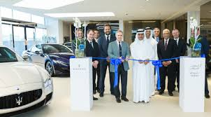 lexus service centre sheikh zayed al tayer motors opens first maserati showroom and service centre