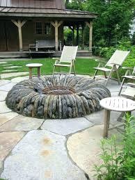 Walmart Firepit Walmart Landscape Rocks Backyard Rock Pit Ideas Design