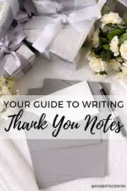 Wedding Gift Thank You Notes Wedding Gift Thank You Etiquette Tips Roberts Centre