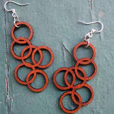 green tree earrings green tree jewelry interlocking circles earrings 1123 ebay