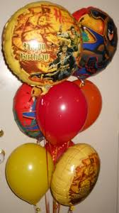 custom balloon bouquet delivery celebrate the day helium balloon bouquet delivery