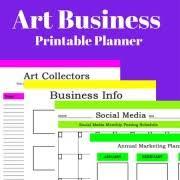 printable art business new art business printable planners stuff to buy pinterest