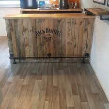 solid wood kitchen cabinets quedgeley bar kitchen foot rail made from industrial galvanise iron in 3 4 pipe ebay