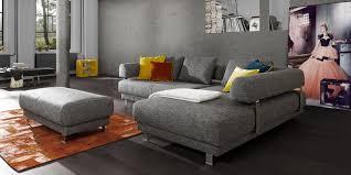 ewald schilling sofa corner sofa modular contemporary fabric ewald