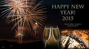 happy new year 2015 wishes for you all and a sincere thank you