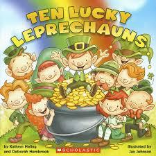 amazon com ten lucky leprechauns 9780545436489 kathryn heling